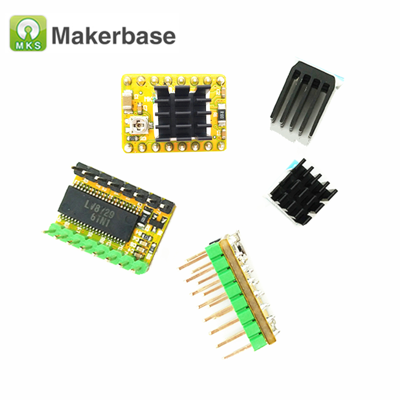 3D Printer Parts MKS LV8729 Stepper Motor Driver Module Ultra quiet 4-layer  Support 6V-36V Full Microstep for MKS Gen L