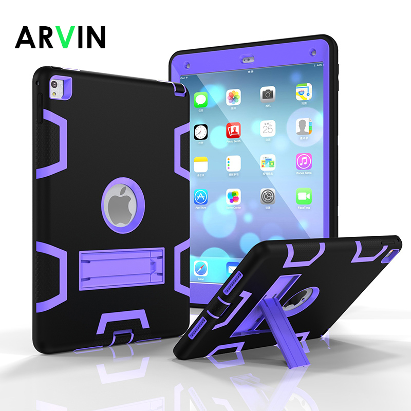 Arvin Shockproof Hard-Full-Body-Protective-Cover Apple IPad Silicone For 1822/1823 Safe