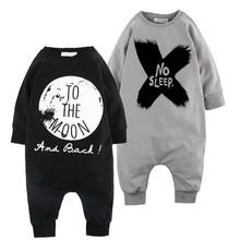 2015 Hot Sale Designer Baby Boys Girls Rompers No Sleep Infant Girl Boy Romper Children Toddler Long Sleeve Jumpsuit Clothing