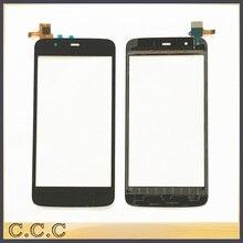 Avant panneau de verre écran tactile digitizer pour Fly IQ4414 EVO Tech 3 IQ 4414 capteur tactile écran