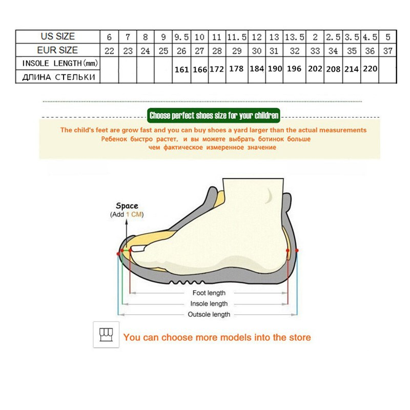 Image 4 - 2019 Winter Kids Sports Shoes Children Casual Boys Patchwork Sneaker Fashion Autumn Graffiti Girls Student Boots Anti Slippery-in Sneakers from Mother & Kids