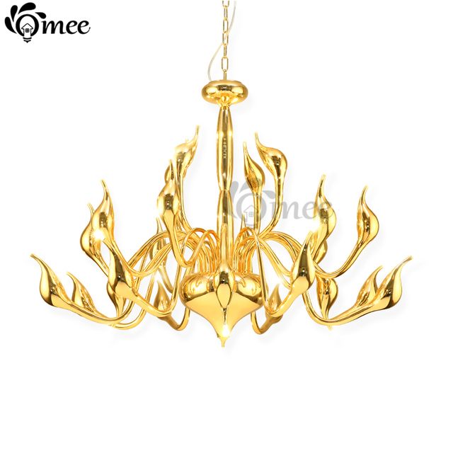 Art deco decorate 18 lights swan chandeliers and pendants living art deco decorate 18 lights swan chandeliers and pendants living room g4 bulbs luxury plate chandelier aloadofball Images