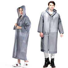 Women and Men Waterproof Raincoat Impermeable Transparent Rain Cover Poncho Coat Not Disposable Hooded Female Rainwear wholesale