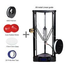 BIQU-Коссель DIY 3D Коссель Все Металлические Принтера Шкив Направляющей Большой Размер Печати Коссель Дельта 3D Комплект Принтера полный Самостоятельной сборки