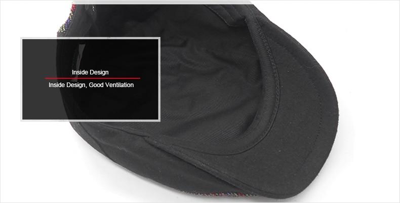 Kopfbedeckungen Für Herren Baskenmützen Vintage Schwarze Baskenmütze Männer Französisch Gestrickte Visier Caps Baumwolle Baskenmütze Hüte Für Männer Oder Frauen Gatsby Flache Kappe Gorras Planas Boina