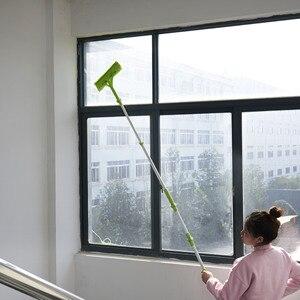 Image 3 - Nettoyage verre vadrouille Multi éponge nettoyant brosse éponge lavage télescopique haute hauteur fenêtres poussière brosse facile nettoyer les fenêtres