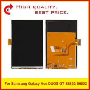 """Image 2 - High Quality 3.5"""" For Samsung Ace Duos S6802 LCD Display With Touch Screen Digitizer Sensor Panel+Tracking Code"""