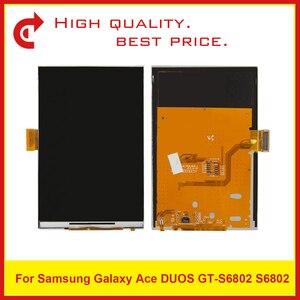 """Image 2 - Hoge Kwaliteit 3.5 """"Voor Samsung Ace Duos S6802 Lcd scherm Met Touch Screen Digitizer Sensor Panel + Tracking Code"""