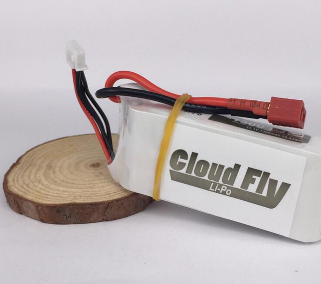 1300 mAh 11.1V Battery 3S Fixed Wing White Battery Accessaries for DIY RC Model
