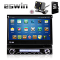 Car Electronic 1 din Car DVD Player GPS Navigation 7 inch 1 din Universal Car Radio In Dash Stereo Video Free Rear View Camera