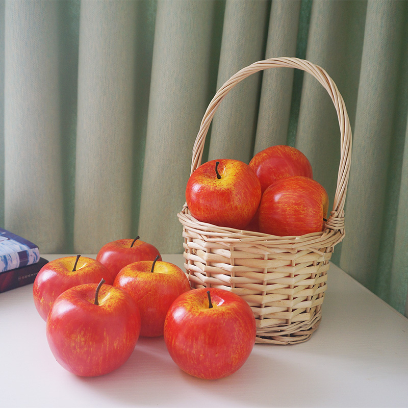 Foam Artificial Green Red Apples Kitchen Decor For Home Interior Decoration Photography Accessories Cheap Fake Decorative Furits Artificial Fruits Aliexpress