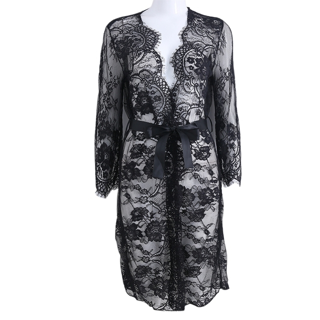 c74886a1a3739 Lace Open Front Maternity Dress See Through Studio Clothes Photography  Props New