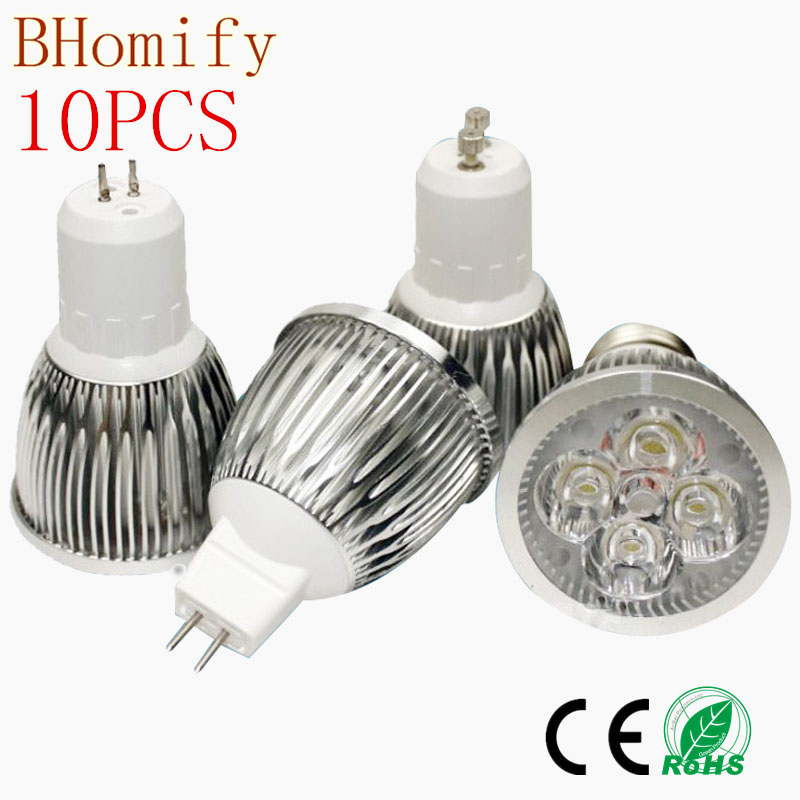 10X <font><b>LED</b></font> High Power <font><b>Lampada</b></font> <font><b>LED</b></font> spotlight GU10 E27 E14 <font><b>led</b></font> bulbs Dimmable <font><b>9W</b></font> 12W 15W <font><b>Led</b></font> Lamp light MR16DC 12V GU5.3 AC110V220V