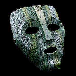 Image 3 - Cameron Diaz Loki Halloween Resin Masks Jim Carrey Venetian  Mask The God of Mischief Masquerade Replica Cosplay Costume Props