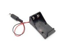 5.5*2.1 mm 9V Battery Holder Box DC Plug Socket Battery Holder For Arduino