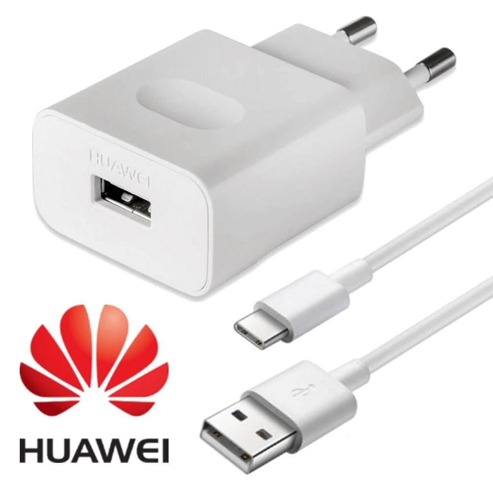 Original huawei nova 3 chargeur rapide qc 2.0 adaptateur de charge rapide câble de USB C pour p20 p10 P9 Lite P8 Honor 9 8 nova 2 3i 4 V10