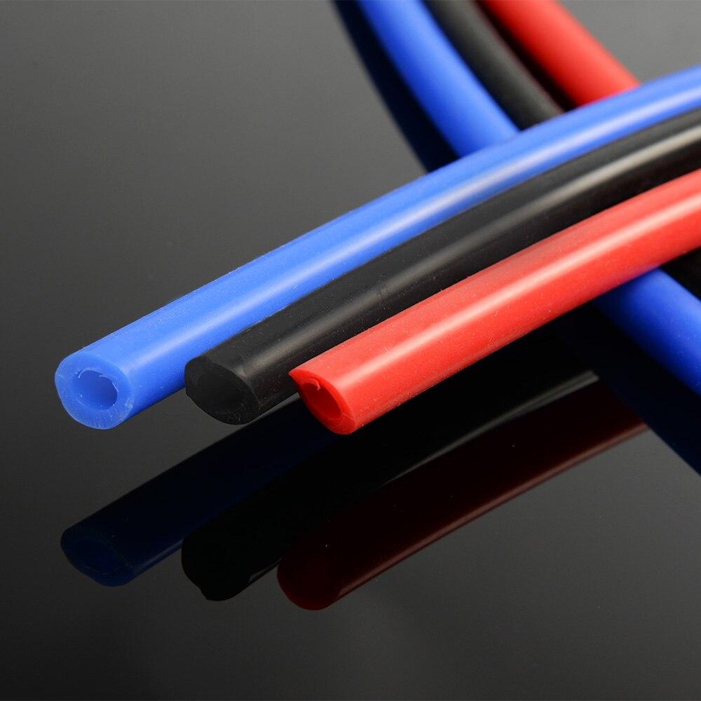 Gratis Pengiriman Gplus 12mm X 18mm Karet Silikon Vacuum Tubing Kotak 2x2 Meja Kursi Interior Teknik Ranjang Tempat Tidur Selang Tabung Pipa 1 M Biru