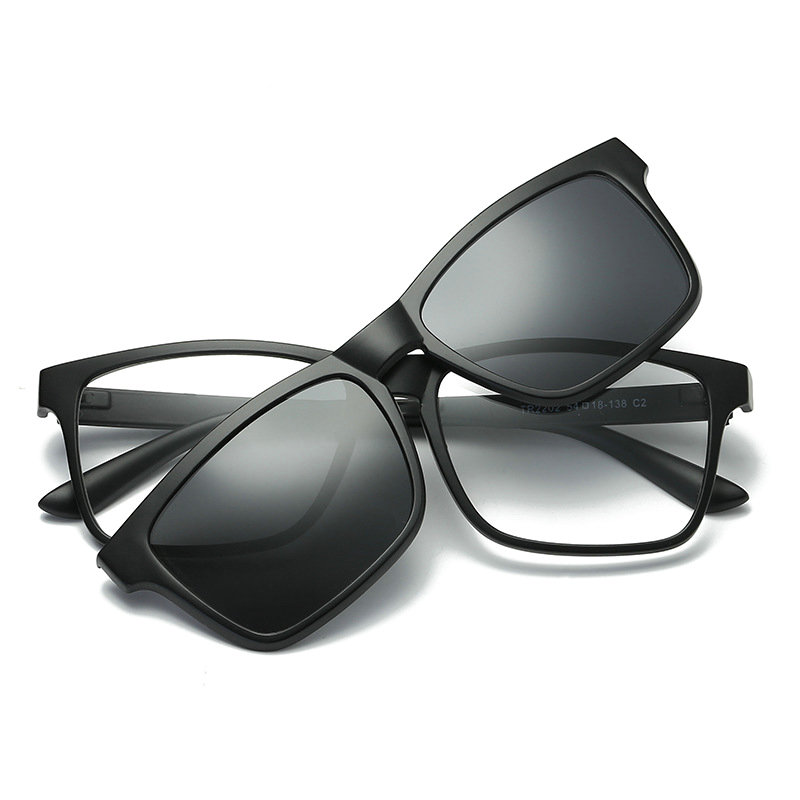 Clip Black Polarizzati Da Degli Nx Blu Di Sole 2 Magnetica Blocco on Personalizzato Occhiali Luce Uomini Lenti Clip YFxnqCRw