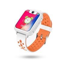 Получить скидку Умных детей Смарт-часы Sos вызова Gps позиционирование Камера Смарт-часы детские часы телефон 1,54 дюймов Цвет Touch