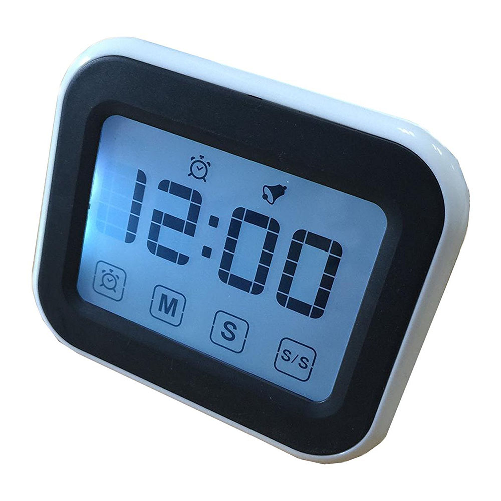 Free Shipping 12/24 Hours Type Digital Countdown Touch Screen ...