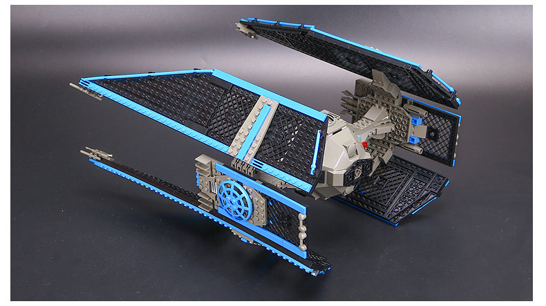 Star Series Wars Building Block 05044 The TIE Interceptor Compatible with Legoing 7181 Toys For Children 5