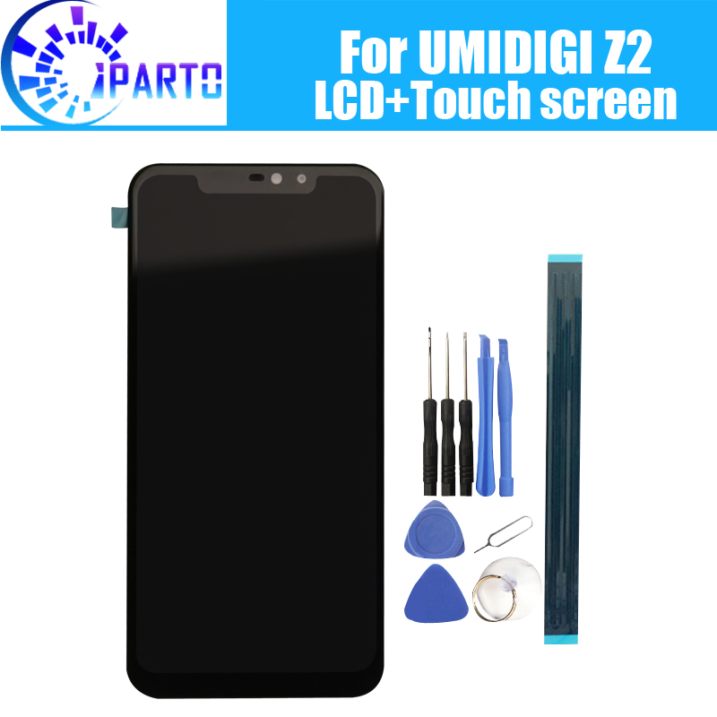 6 2 inch UMIDIGI Z2 LCD Display Touch Screen 100 Original Tested LCD Digitizer Glass Panel