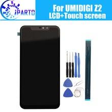 6.2 אינץ UMIDIGI Z2 LCD תצוגה + מסך מגע 100% מקורי נבדק LCD Digitizer זכוכית לוח החלפה עבור UMIDIGI Z2