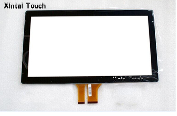 """Driver free 15.6"""" projected capacitive touch screen multi 10 points PCAP touch screen panel overlay kit for LED"""