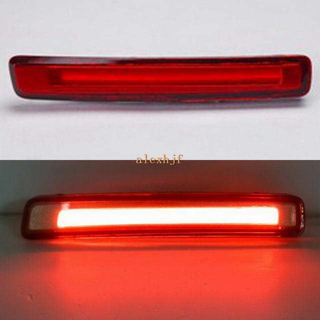 Julho de Rei Vermelho Shell Guia de Luz LED Luzes de Freio Luzes de Circulação caso para Toyota Prius um Prius Prius + V 2011 + etc, 1 Set/lote.