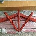 HOT ! (4pcs/set) Natural/Red hand-made parts Wing Chun Wooden Dummy 3 hands + 1 leg, kung fu martial art IP man mook yun jong