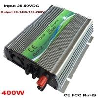 Promo Inversor de energía Solar en red de 400W con onda sinusoidal pura DC 20 60V