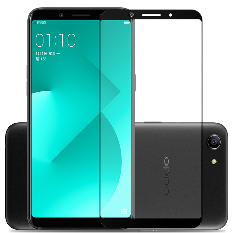 US $1 88 51% OFF 2 5D 9H Premium Tempered Glass for OPPO A83 Full Coverage  Screen Protector Protective Film for OPPO A1-in Phone Screen Protectors