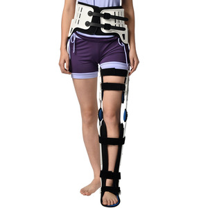 Image 2 - HKAFO Hip Knee Ankle Foot Orthosis For Hip Fracture Femoral Femur Fracture Hip Instability Fixation Of Lower Limb Paralysis Leg