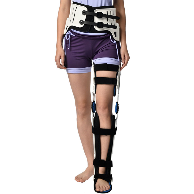 Hkjd joelho tornozelo pé kafo inferior membro oorthotic produto orthotic orthose fratura apoio reabilitação - 2