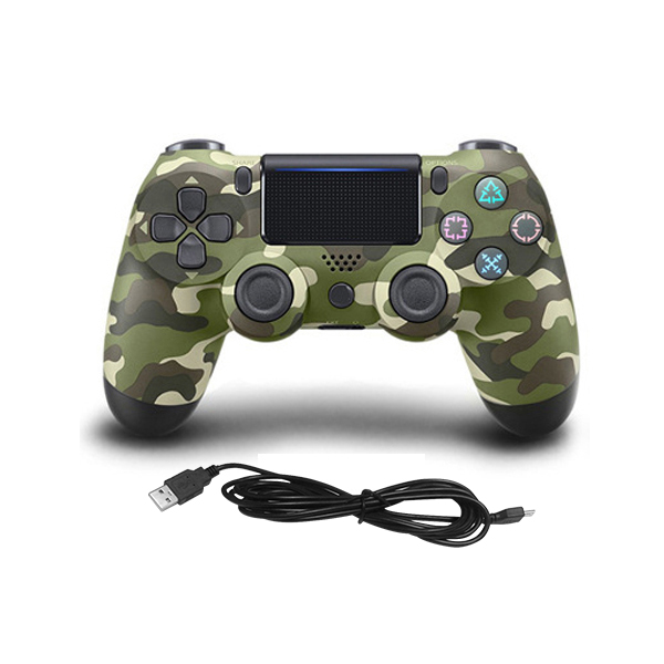 2018 New PC Game Wired Gamepad Controller For PS4 Controller For Sony Playstation 4 DualShock Vibration Joystick Gamepads wired usb 2 0 black gamepad joystick joypad game controller for pc laptop for raspberry pi 3 for ps3 for sony playstation