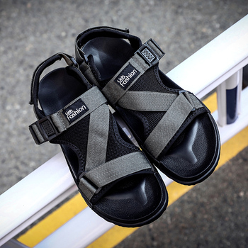 Man Beach Sandals 2018 Summer Gladiator Men's Outdoor Shoes Roman Men Casual Shoe Flip Flops Fashion Slippers Flat Plus Size 46 Sandals