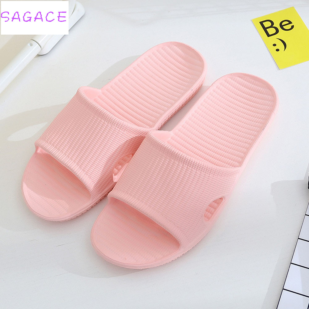 SAGACE 2018 Hot Fashion Women Stripe Flat Bath Slippers Summer Sandals Indoor & Outdoor Slippers Women Basic Flip Flops travel siketu 2017 man stripe flat bath slippers male summer sandals indoor