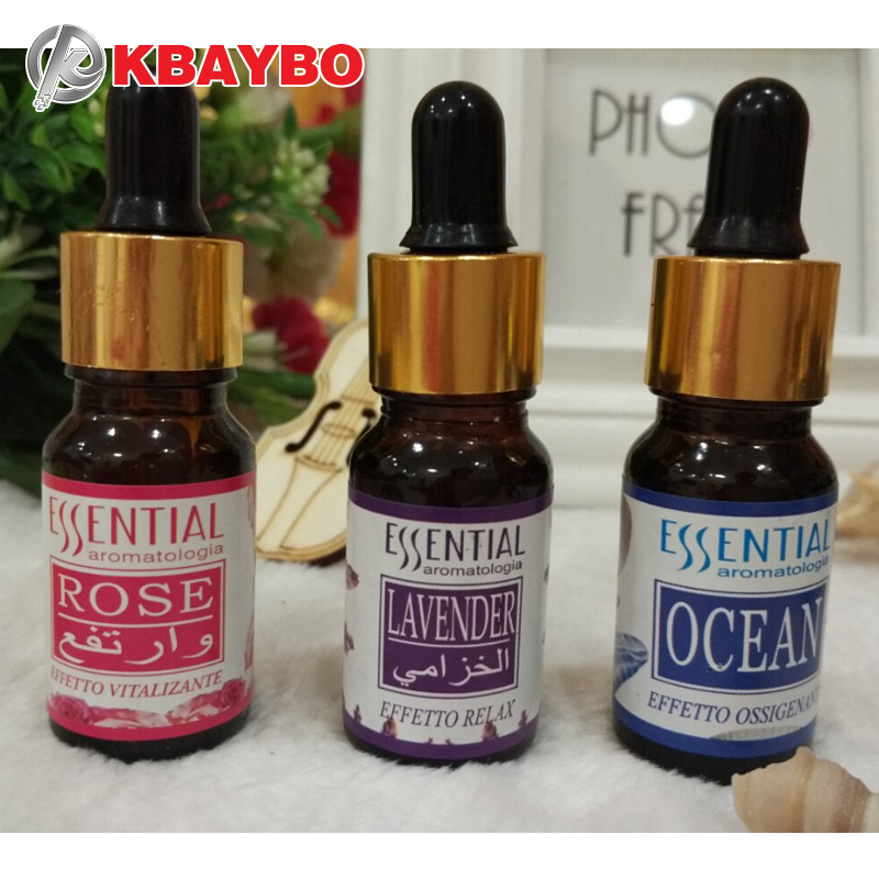 Water-soluble Oil Essential Oils for Aromatherapy Lavender Oil Humidifier Oil with 12 Kinds of Fragrance Rose green tea essential oils with aromatic aromatherapy oil 6 kinds fragrance of lavender tea tree lemongrass essential oil for diffuser