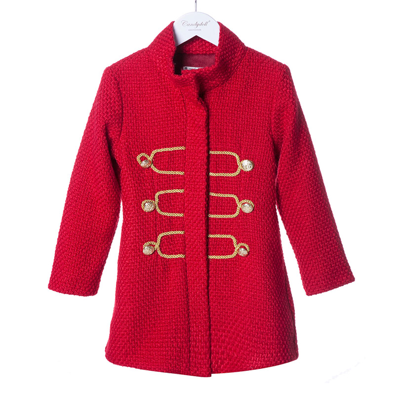 5d8cd93cc4506 Enfants manteaux printemps automne marque filles manteaux rétro enfants  vestes fille vêtements de haute qualité