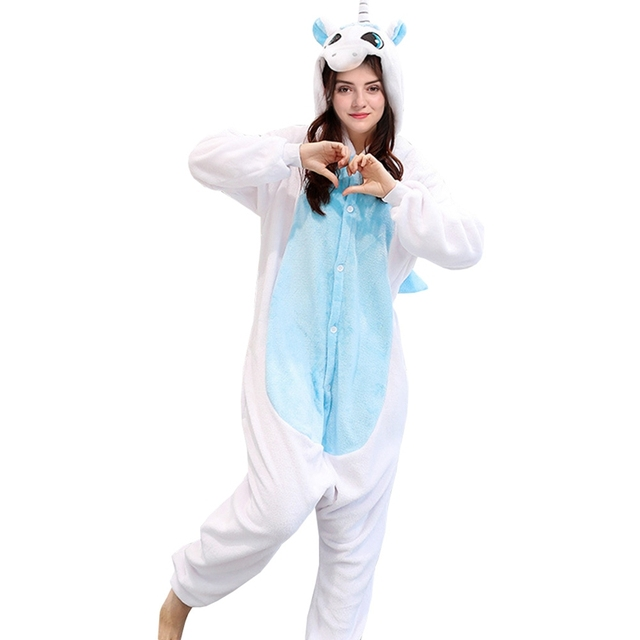 10986781d6 Animal Cosplay Pajamas Costume For Women Adults Party Pyjamas One Piece Blue  Pink Stitch Onesie Lilo