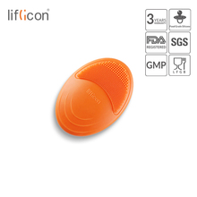Liflicon Silicone Bath Shower Brush Face Body Gentle Scrub Skin Exfoliation Massage Nubs Improve SPA Scrubber
