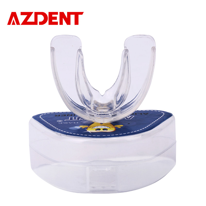 AZDENT Pro Silicone Tooth Orthodontic Tray Dental Appliance Trainer Alignment Braces Mouthpieces Teeth Straight/Alignment Teeth капитан америка удивительный человек паук 2 железный человек перчатки мультфильм детей игрушки передатчик