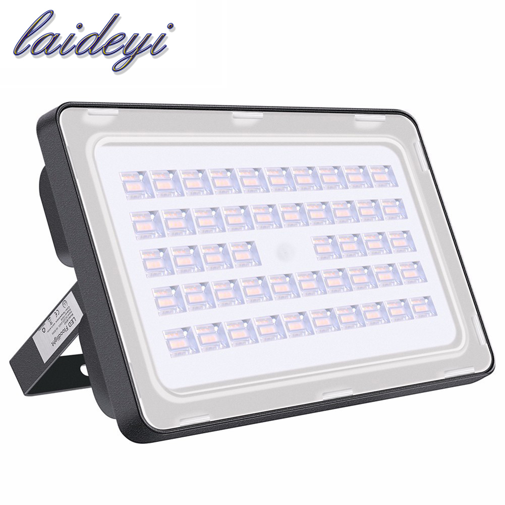 LED Floodlight 150W Ultra Thin Reflektor Led Flood Light Spotlight 220V 110V 150W Led Flood Lamp Vandtæt Udendørs Væg Lampe