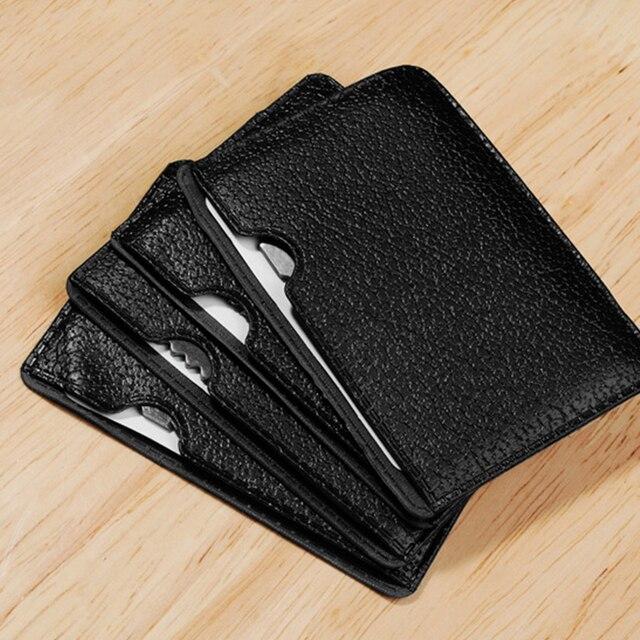 Couteau carte de Camping multi-outil | 11 en 1, poche multifonction, carte de crédit militaire, couteau pour la randonnée, survie voyage