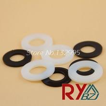 M5 (5mm*10mm*1mm)   Nylon flat washer/Plastic washer/Nylon washer/ Nylon DIN125