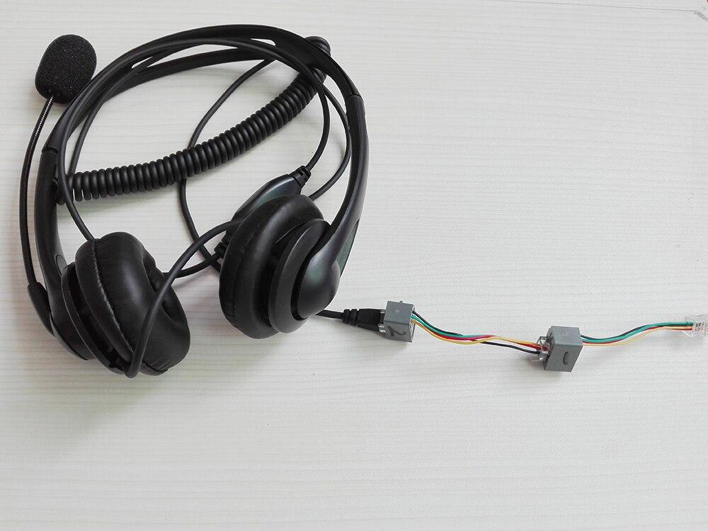 do telefone microfone com 2 adaptadores para todos os telefones
