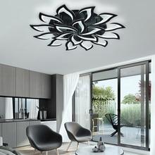 IRALAN led Black Chandelier Living Room Bedroom Home chandelier by sala Modern decor Led Chandelier Lamp Lighting fixture
