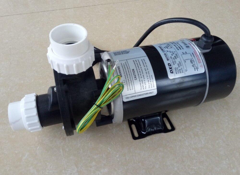 spa bathtub pump DXD 1 750 115V 60HZ 1HP 750W For US Canada bath replacement