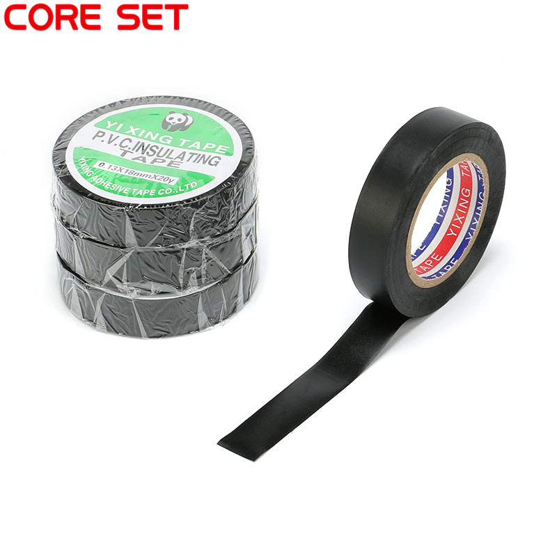 Strong Adhesive Black Electrical Insulation Tape PVC Insulating Tape