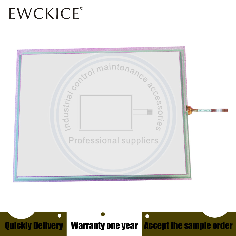 NEW QST-150A075H QST150A075H QST 150A075H HMI PLC touch screen panel membrane touchscreen цена